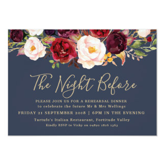 Rehearsal Dinner Invitation - The Lucy Suite
