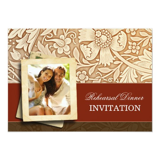 rehearsal dinner invitations with photo