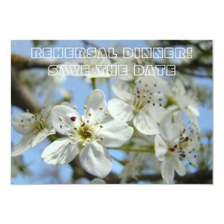 Rehersal Dinner Card Save the Date Annoucement 13 Cm X 18 Cm Invitation Card