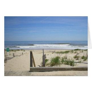 Rehoboth Beach, DE Blank Greeting Card