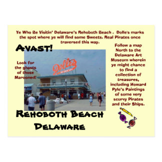 Rehoboth Beach, Delaware Post Card