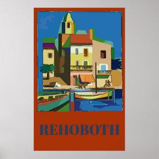 Rehoboth, De, edit text Poster