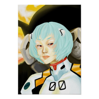 Rei Ayanami Poster
