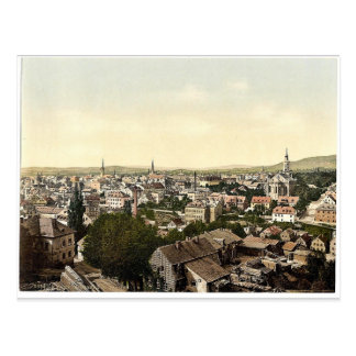 Reichenberg, general view, Bohemia, Austro-Hungary Postcard