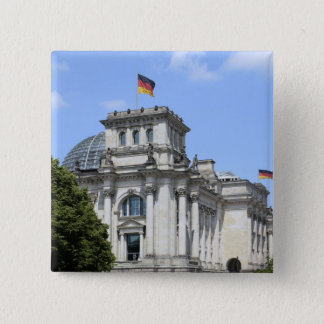 Reichstag, Berlin, Germany 2 15 Cm Square Badge