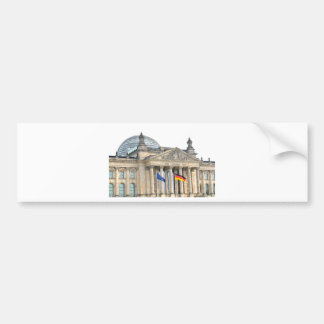 Reichstag building in Berlin, Germany Bumper Sticker