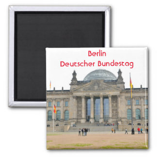 Reichstag building in Berlin, Germany Magnet