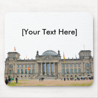 Reichstag building in Berlin, Germany Mouse Pad