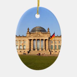 Reichstag in Berlin Ceramic Ornament