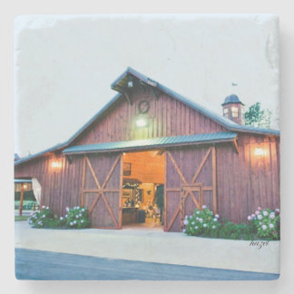 Reid Barn, Cumming, Georgia Coaster