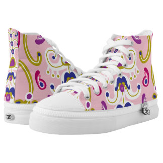 Reign of Pink High Tops