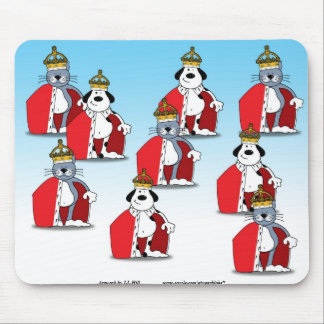 Reigning Cats & Dogs Mouse Pad