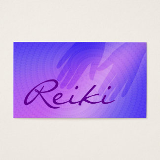 Reiki Business Cards