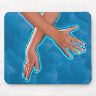 Reiki Cosmic Healing Energy Mouse Pad