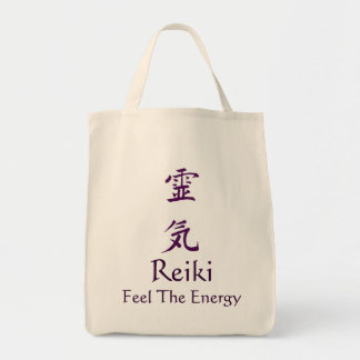 Reiki Feel The Energy Tote Bag