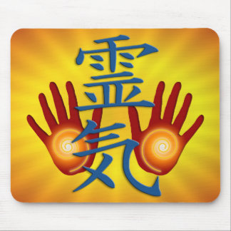 Reiki Hands Mouse Pad