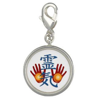 REIKI Hands Symbol + your background