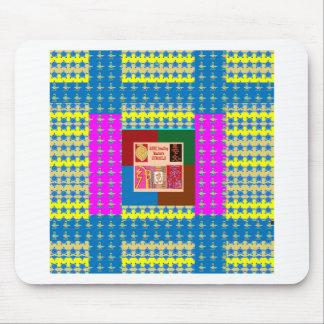 REIKI Healing Symbols on Full Energy Mandala Color Mouse Pad