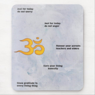Reiki Ideals mouse mat