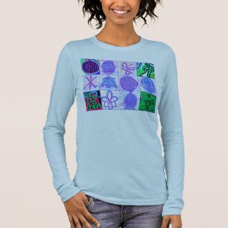 Reiki Karuna Healing Symbol Collection Long Sleeve T-Shirt