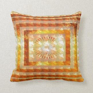 REIKI Karuna Healing Symbols Lotus Golden Chakra Cushion