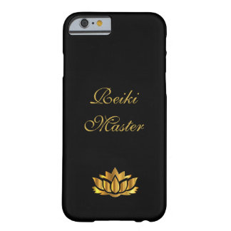 Reiki Master Black/Gold Barely There iPhone 6 Case