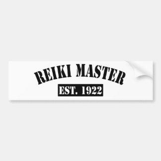 Reiki Master Bumper Sticker