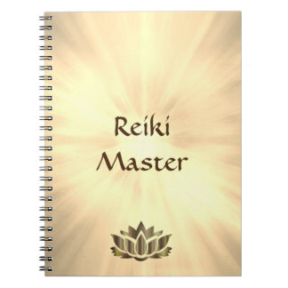 Reiki Master design Notebook