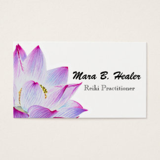 Reiki Master or Practitioner Light Filled Business Business Card