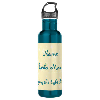 Reiki Mom personalised design water bottle. 710 Ml Water Bottle