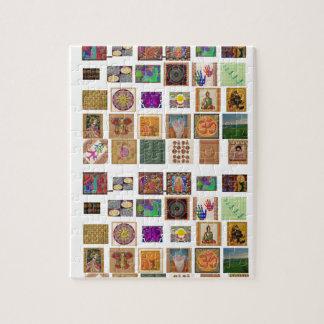 reiki,ommantra,buddha,ganesh,chokurei,chakra,krish jigsaw puzzle