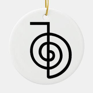 Reiki Power Symbol Ceramic Ornament
