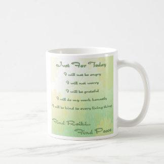 Reiki Principles floral Coffee Mug