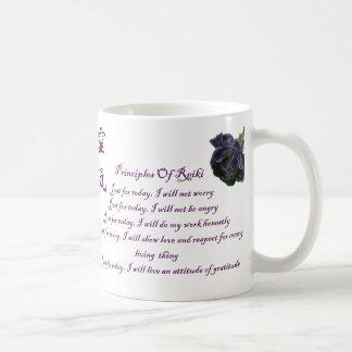 Reiki Principles Just For Today Coffee Mug