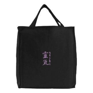 Reiki Symbol Embroidered Tote Bag