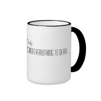 Reiki Virgo Principles Ringer Mug
