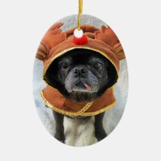 Rein-pug Ornament