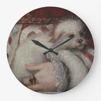 Reinaissance Dog Wall Clock