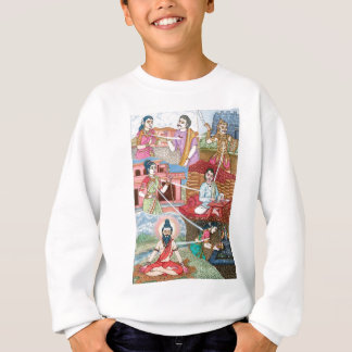 Reincarnation, We are all connected Sweatshirt