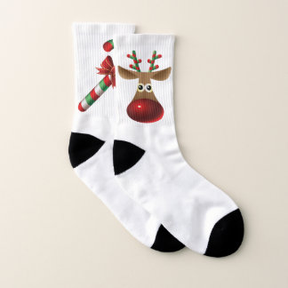Reindeer And Candy Cane Design 1