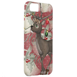 Reindeer and Christmas Bells iPhone 5C Cover
