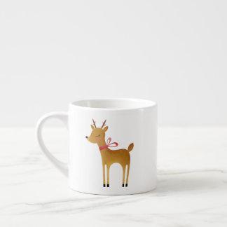 Reindeer and Sleigh Christmas mug