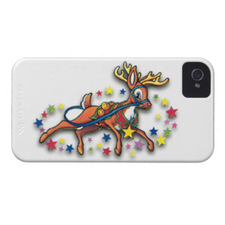 Reindeer And Stars iPhone 4 Covers
