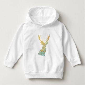 Reindeer Antler. Snowflakes. Winter. Art Hoodie