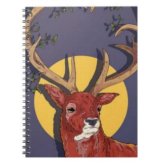 Reindeer Antlers Christmas Notebooks