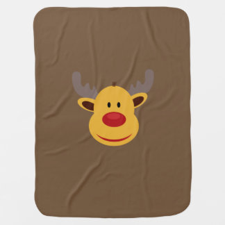 Reindeer Baby Blanket