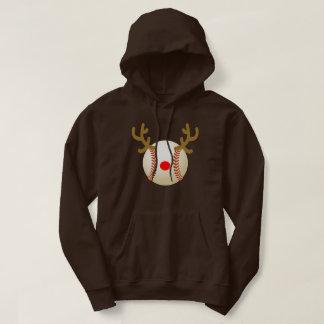 reindeer baseball T-Shirt Funny Christmas Gift