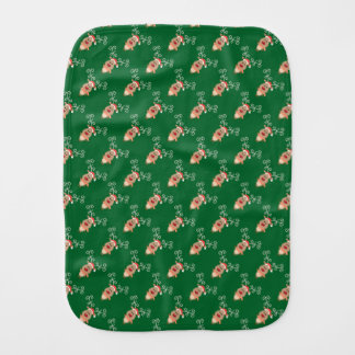 Reindeer Burp Cloth