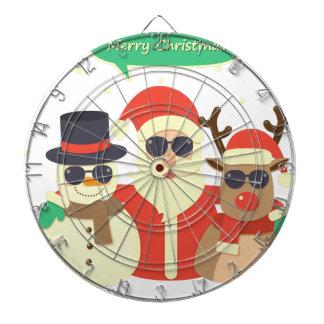 reindeer christmas dartboard