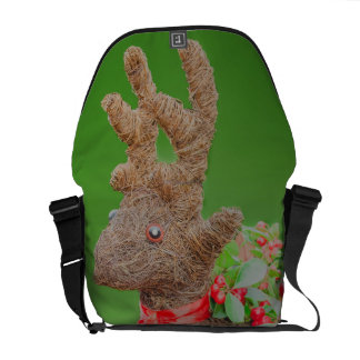 Reindeer Christmas decoration Courier Bag